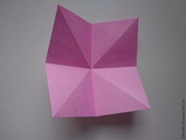 Как сделать бантик из бумаги.