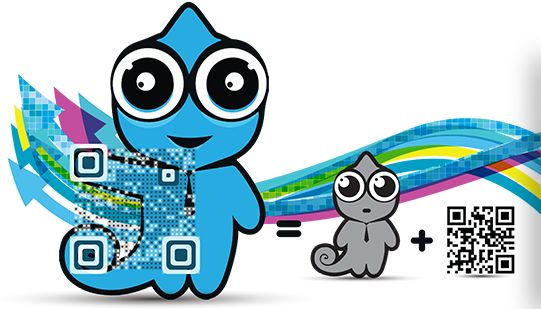 Create QR codes from different kinds of data, and download your code both in a rasterized (PNG) and vector format (PDF, SVG, EPS).