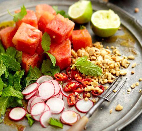 Thai Watermelon Salad | #healthspo - Fuel | Pinterest