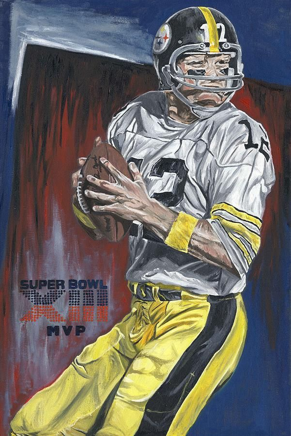 Terry Bradshaw Art Bing Images Pittsburg steelers