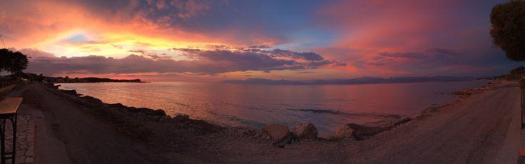 Sunset at Roda ,Corfu