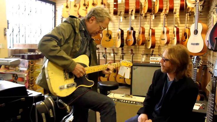 Gerry Beckley and Bill Mumy at Norman's Rare Guitars