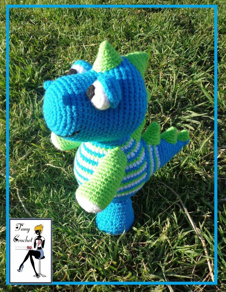12 best Dinosaurios y dragones amigurumis images on Pinterest ...