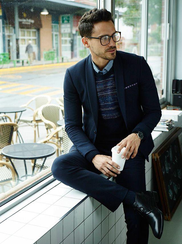 #stylish#and#elegant#suit#coffee#break