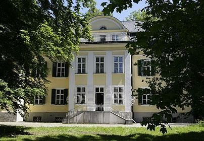 the Von Trapp house. In Salzburg...... Since I've gotten a million criticisms from it being incorrect before. Sorry people. I made a mistake. Yikes.