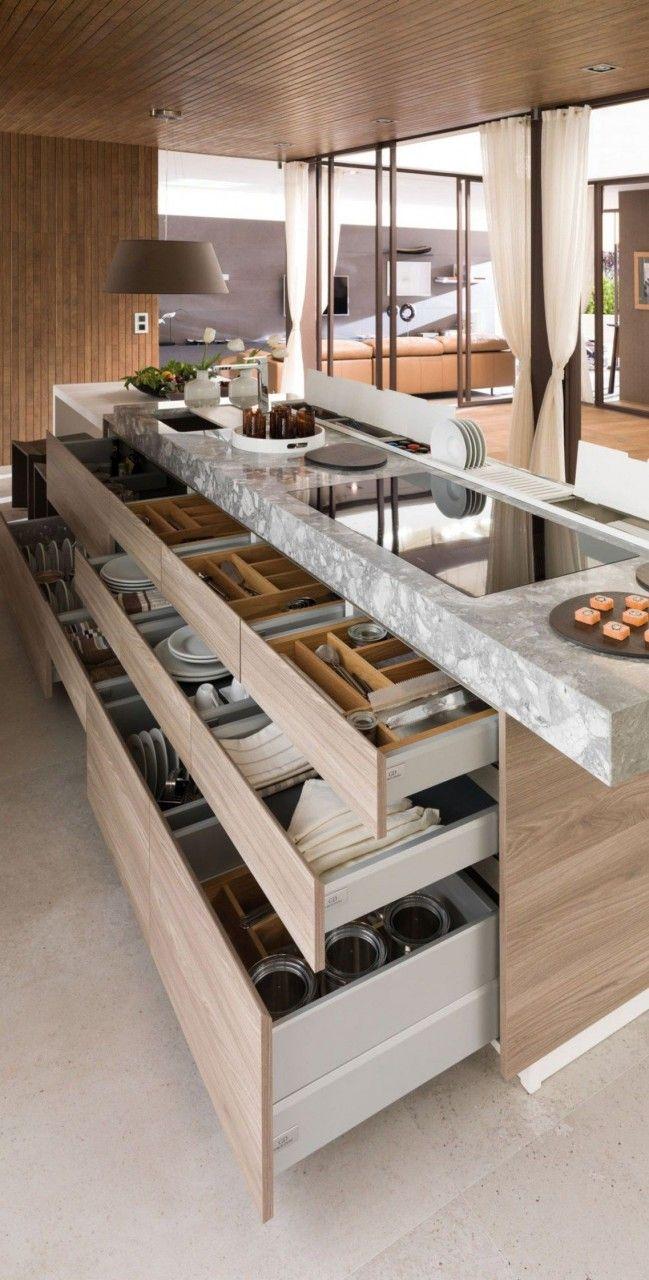 50 Cocinas Modernas Con Isla 2019 Remodelacion De Cocinas Cocinas Modernas Grandes Diseno Cocinas Modernas