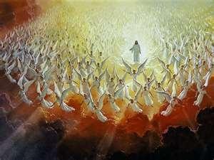 God's heavenly angels