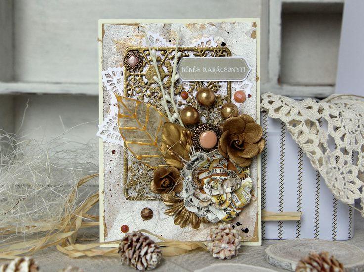 Christmas card by Julia Romanova