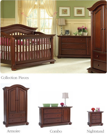 Baby Cache Heritage in Cherry- Baby boy Soto's new nursery furniture!!! ...Now to figure out a theme...