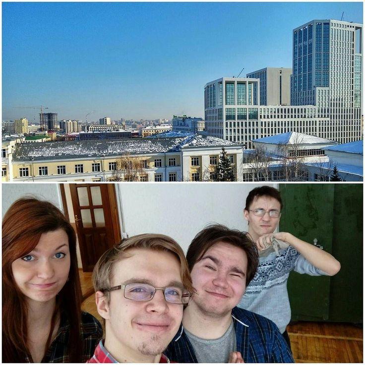 Обживаем свой новый кабинет #aviaLIFE #медиацентр #УГАТУ #СМИ #TV #media