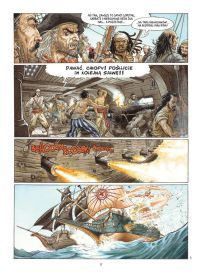 "Jean Dufaux (sc.), Jérémy Petiqueux (rys.), ""Barakuda #1: Niewolnicy"", Taurus Media, 2017."