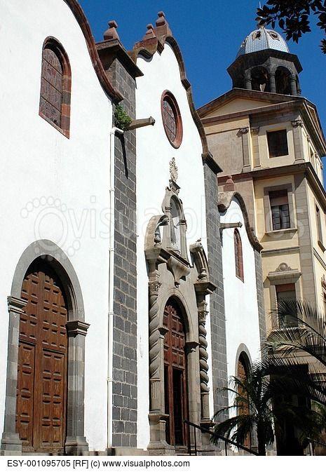 San Francisco Church  Santa Cruz de Tenerife  Tenerife  Canary Islands  Spain