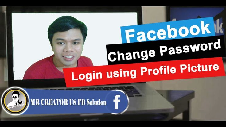 How To Change Password & Login Using With Profile Picture  to facebook :...