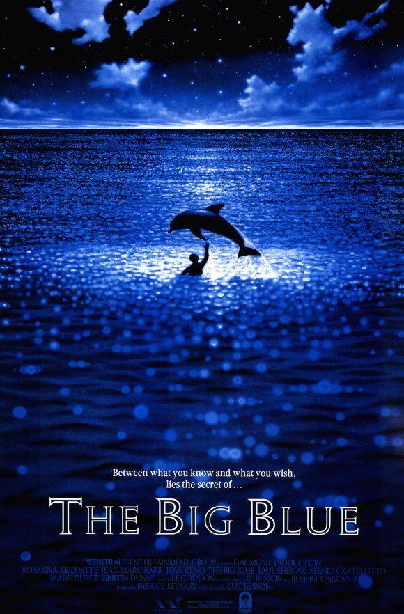 Risultati immagini per THE BIG BLUE ( 1988 ) GIF POSTER