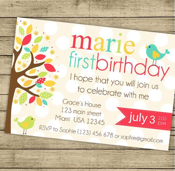 Invitaciones de cumpleaños personalizados  de By Yolanda por DaWanda.com