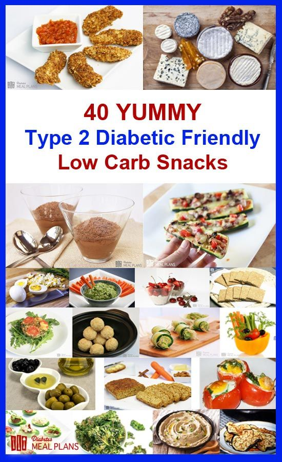 40 YUMMY low carb diabetic snacks