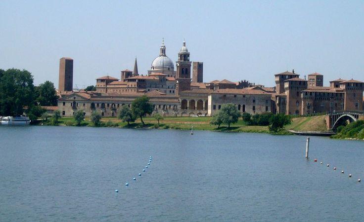 Mantua view from Mincio