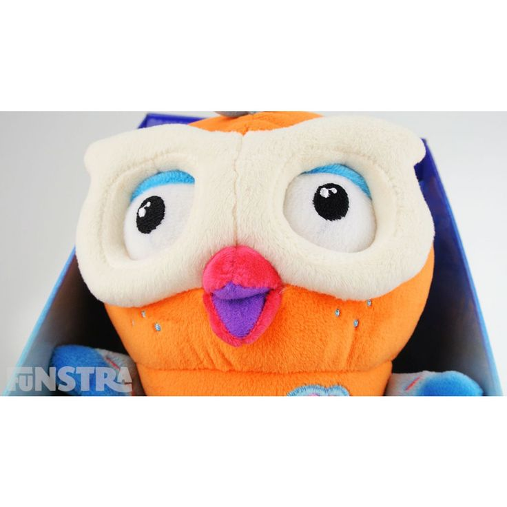Hootly Talking Large Plush Toy and many more Hoot Hoot Go! and Giggle and Hoot toys available at Funstra