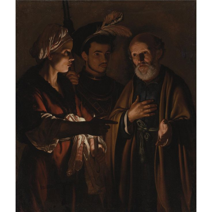 THE DENIAL OF SAINT PETER. oil on canvas. 119,4 × 101,6 cm. Provenance: Venice, Gallerie dell'Accademia. Sotheby's. New York. Old Master Paintings. 05/06/2008. Lot 58. Estimate: 50.000/70.000 $. Price realized: 98.500 $.