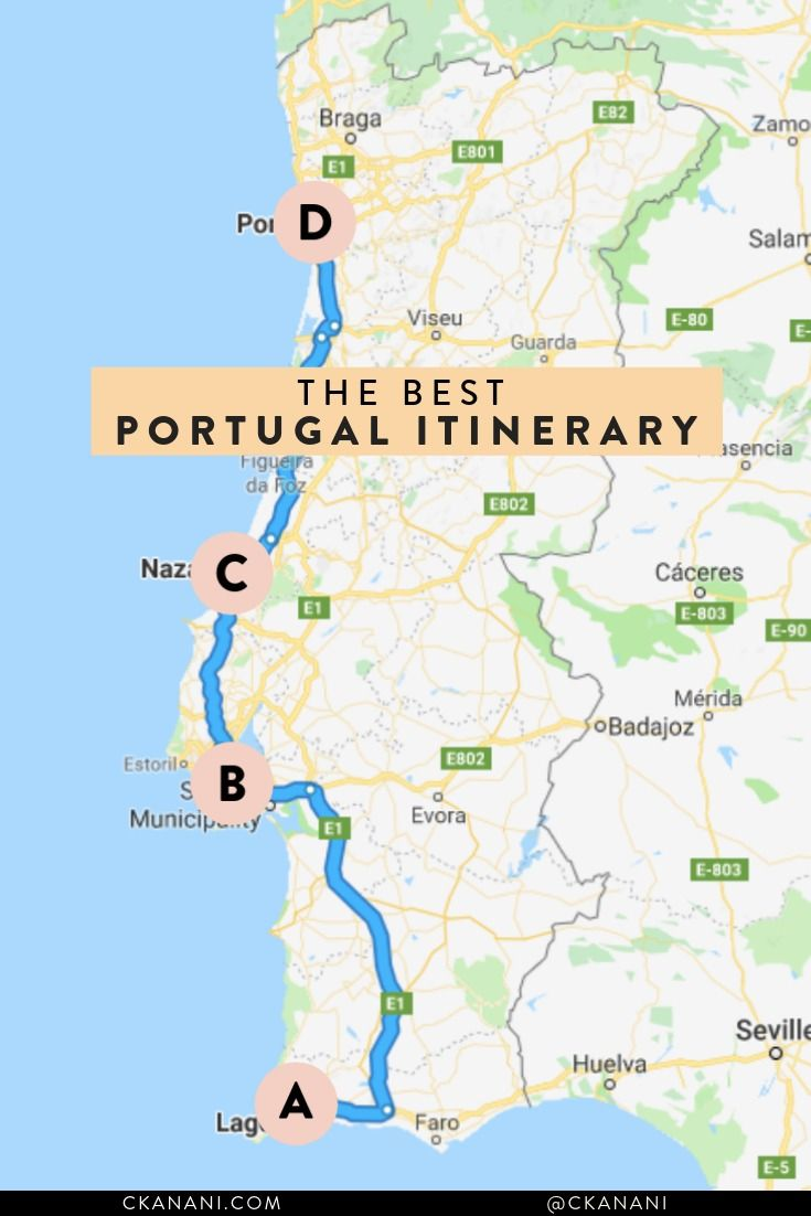 The Best Portugal Itinerary Portugal Travel Guide Portugal