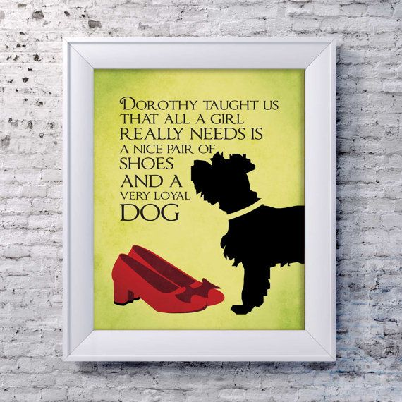 Hey, I found this really awesome Etsy listing at https://www.etsy.com/listing/200702736/wizard-of-oz-print-red-slippers-quote
