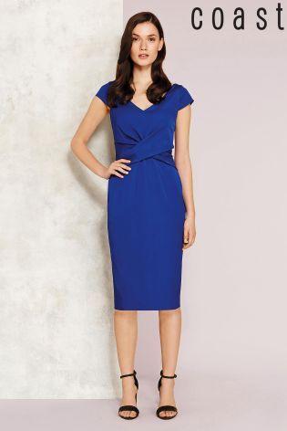 Buy Coast Matena Blue Dress from the Next UK online shop