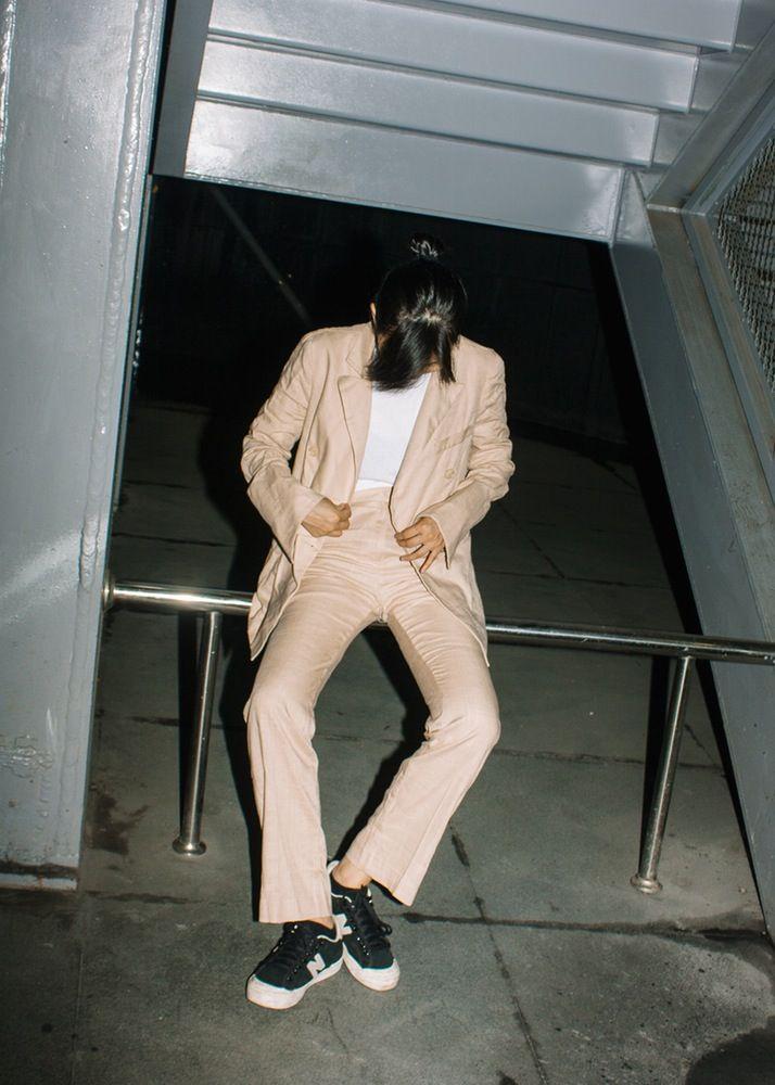 Image of Beige Suit