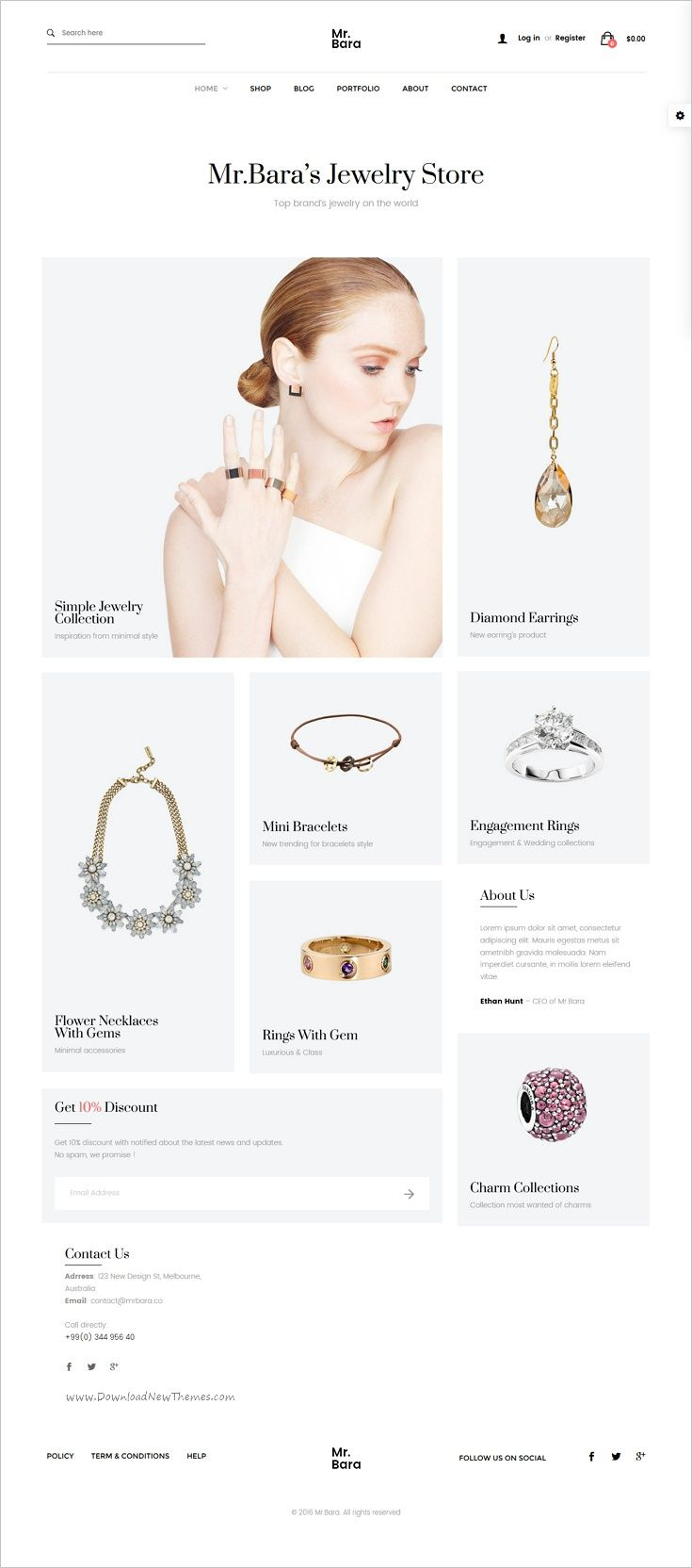 MrBara is an unique and modern #WooCommerce #WordPress theme for awesome #jewelry #goldsmith #store eCommerce website with 40+ unique homepage layouts download now➩ https://themeforest.net/item/mrbara-responsive-multipurpose-ecommerce-wordpress-theme/17336192?ref=Datasata