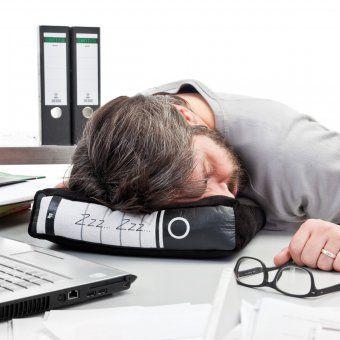 #design3000 Power-Nap Büro-Kissen im Ordner-Design.