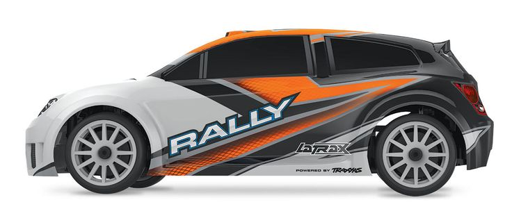 Key Features - 1/18 LaTrax Rally body with cutting edge graphics - Powered by Traxxas for award winning performance and support - All-weather electronics, including the waterproof electronic speed con