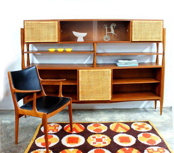 Danish Modern Sideboard Cabinet by TheModernHistoric, $2200.00