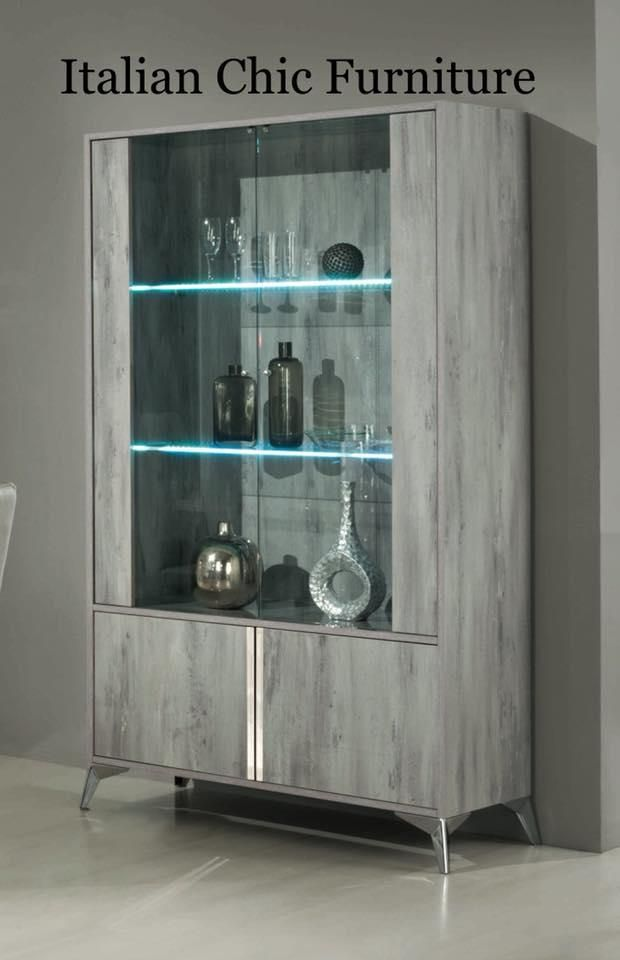 Beautiful Glass Vitrine Display Cabinet