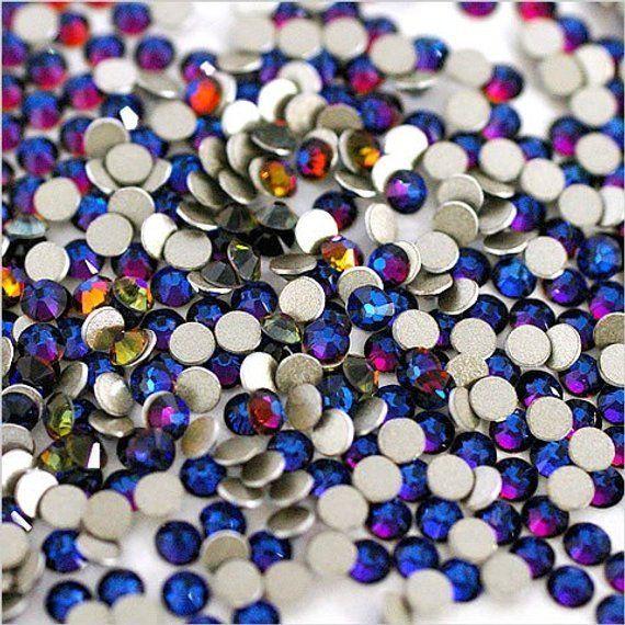 Clear Crystals DMC Hotfix Premium Rhinestones Flat back Iron on Gems