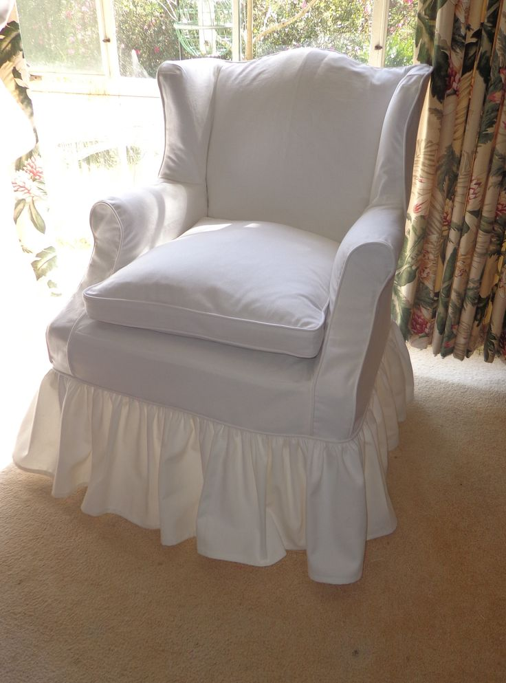 64 best Slipcovers images on Pinterest  Armchairs Chairs