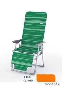 Шезлонг пляжный К205 (цвет: оранж)