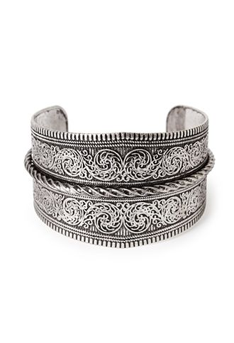 Baroque Pattern Arm Cuff | FOREVER21