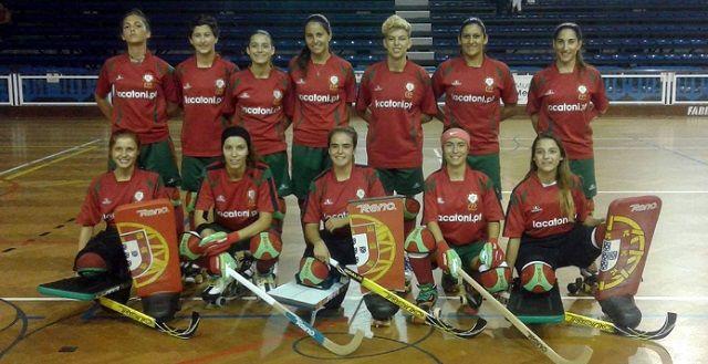 Atletas seleccionadas para o Mundial de Hóquei em Patins (F) 2016, em Iquique