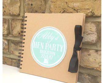 Personalised Scrapbook Hen Do  Weddings  Birthday scrapbook