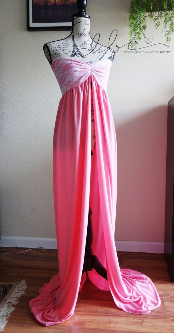 Jill pink  Maternity Dress Maternity Gown. by designbycboutique