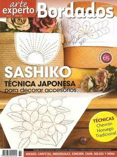 BORDADOS - Arte experto 84 (Sashiko Tecnica Japonesa) / broderie - cusătoreasă - CREATIVE MAINI - Publisher - vergele