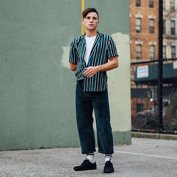 New York's Justin Livingston in #TopmanRules No.3: Crop & Contrast