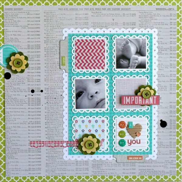 for jillibean soup DT with a sketch from pagemaps by Becky FleckScallops Squares, Scrapbook Ideas, Jillibean Soup, Cards Scrapbook, Scrapbookst Com, 1Scrapbook Layout, Scrapbook Deals, Scrapbook Gallery, Daily Scrapbook