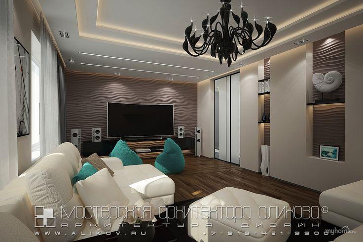 Интерьер квартиры во Владикавказе. Гостиная