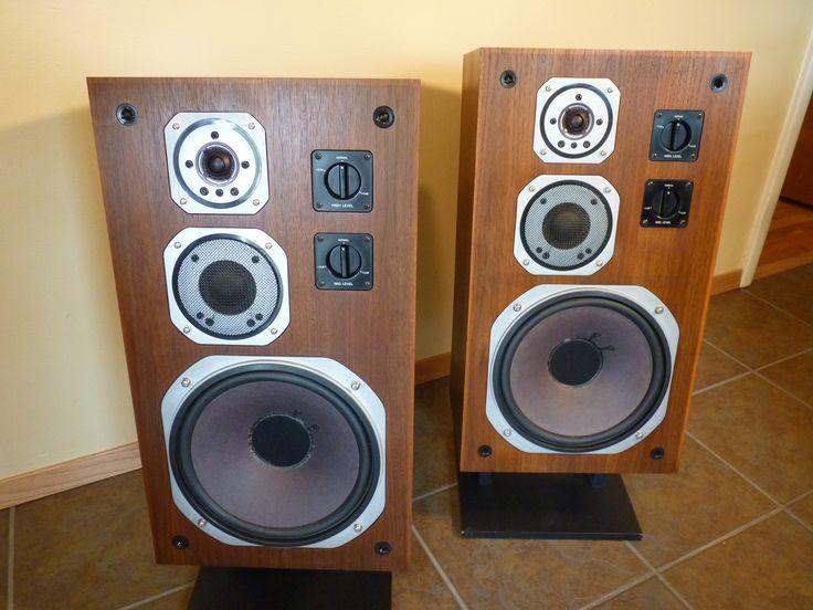 yamaha ns 670 speakers vintage stereo components. Black Bedroom Furniture Sets. Home Design Ideas