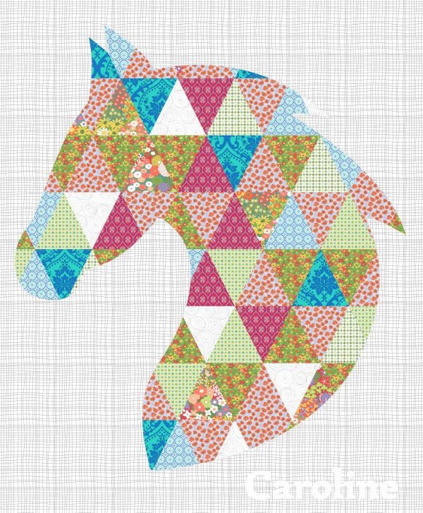 Quilt Patterns With Horses : 25+ best ideas about Horse Quilt on Pinterest Quilt patterns, Patchwork patterns and Quilt ...