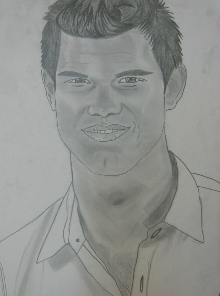 Taylor Lautner drawing
