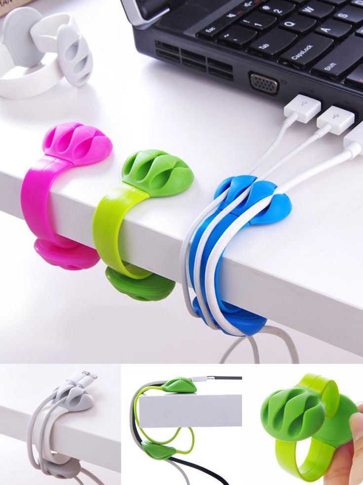 [Visit to Buy] 2017 New Headphone Headset Wire Wrap Cord Winder Organizer Cable Collector Silica 523 #Advertisement