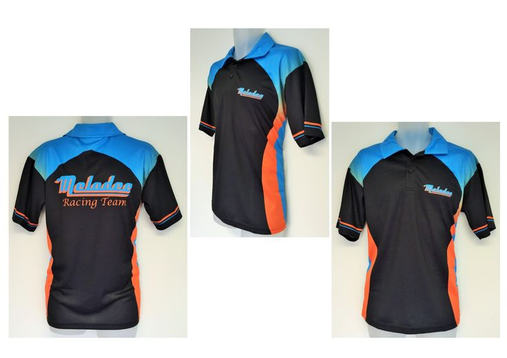 Check out this bright sublimated polo shirt created for for Design your own polo shirts