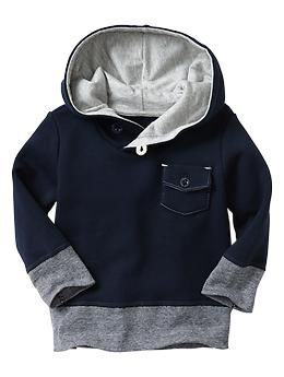 Pullover hoodie... let be honest... everything from baby gap is cute