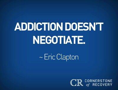 Nope.....it steals, lies, cheats. But no negotiation. The disease is a bastard.